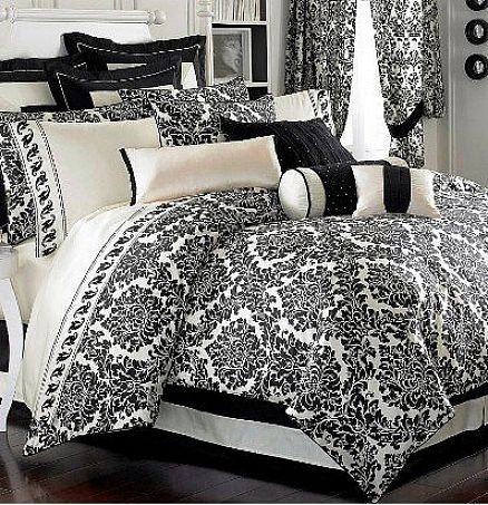 94 Best Images About Black And White Bedding On Pinterest