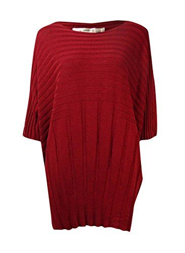 Studio M Womens Ribbed Boat Neck Dolman Sweater XS Garnet * Learn more by visiting the image link.(This is an Amazon affiliate link and I receive a commission for the sales)