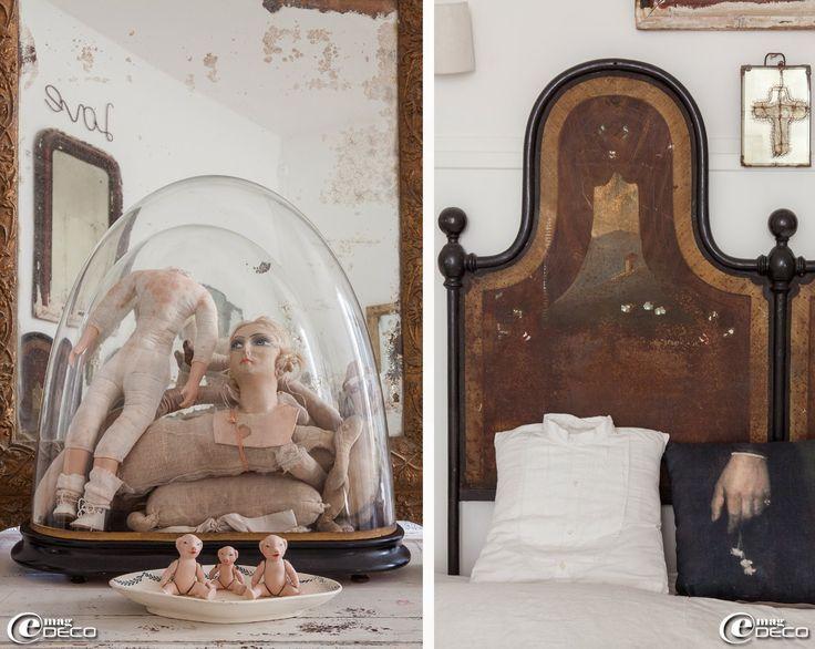 17 meilleures id es propos de t te de lit en fer sur pinterest cadres de - Tete de lit fer forge blanc ...