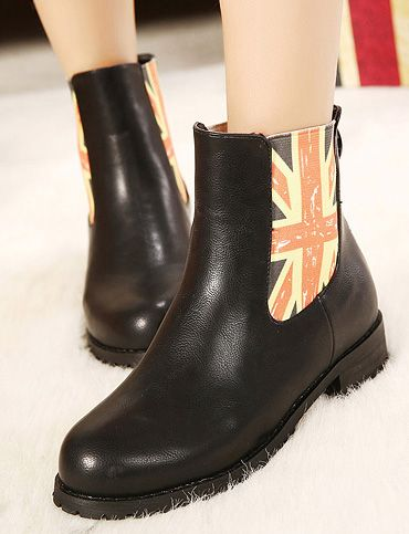European Style Flap Printed Martin Boots for Women, Shop online for $31.20 Cheap Boots code 710071 - Eastclothes.com