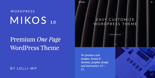 [GET] Mikos  One Page WordPress Theme (Creative) - NULLED - http://wpthemenulled.com/get-mikos-one-page-wordpress-theme-creative-nulled/
