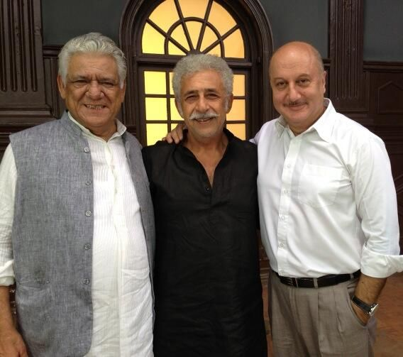 Om Puri, Naseeruddin Shah, Anupam Kher