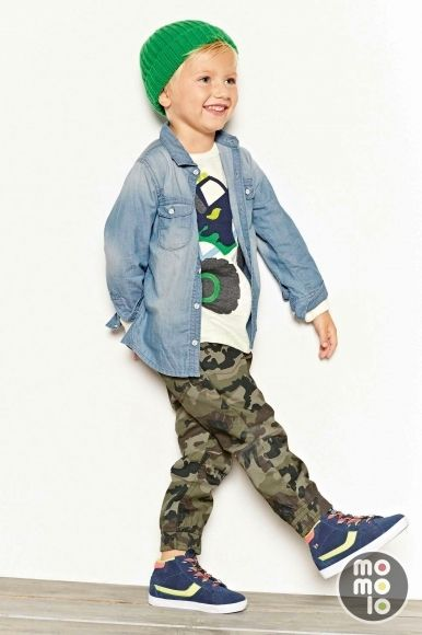 www.momolo.com #kids #dress #modainfantil #fashionkids #childrensfashion #childrens #niños #kids #streetstyle #denim Look de Next | MOMOLO Street Style Kids :: La primera red social de Moda Infantil