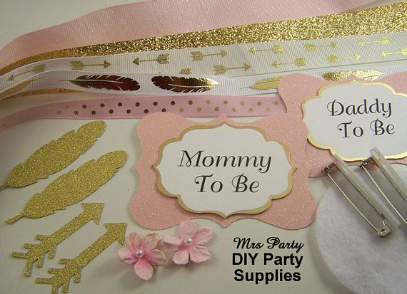 66 Best Diy Baby Shower Corsage Supplies Images On Pinterest