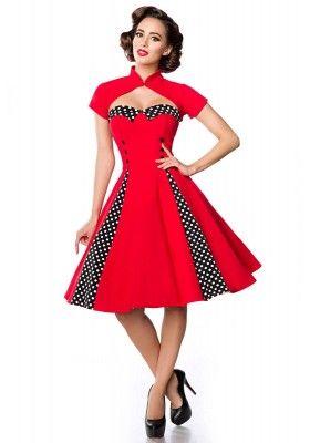 f9d8dbb06 Vestido Vintage -Kleid mit Bolero | PICKUP | Vestidos vintage fiesta ...