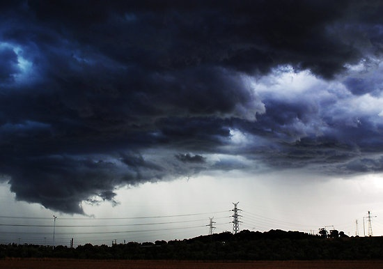 Storm Brewing over Geelong
