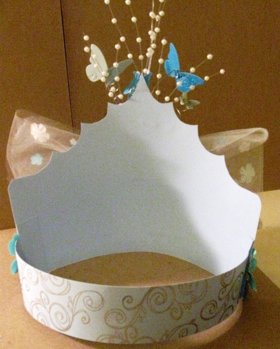 paper crown form ...then decorate