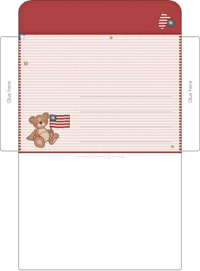 Best Printable Envelope Images On   Envelopes