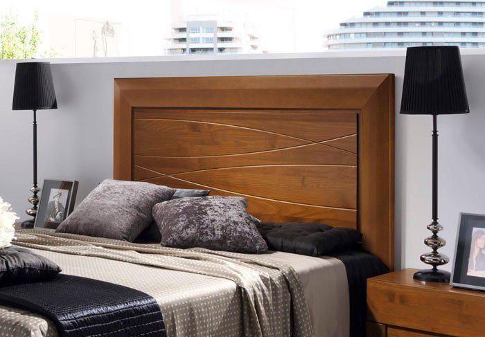 Camas de madera modelos modernos buscar con google - Cabeceras de cama de madera ...