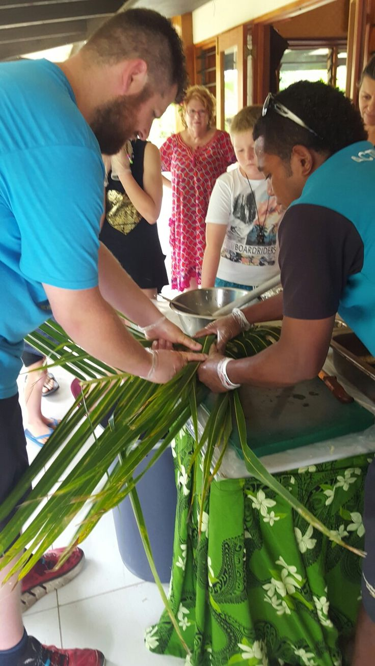 Learn The Art Of Weaving Palm Leaves