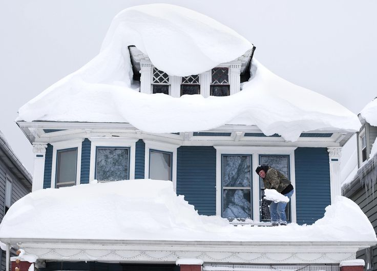 The snow is almost over, but the cities and towns near Buffalo, New York, have something else to worry about — sagging roofs and the threat of flooding when ...