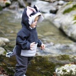 The WOLF to Little Red Riding Hood - and here's how to recreate the costume for your little one.