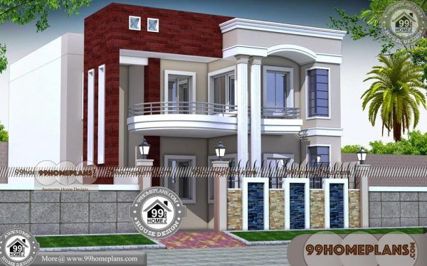 Unique Home Plans 100 Two Storey Homes With Rear Balcony Designs Double Storey House Plans Double Storey House Balcony Design