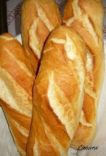 Hungarian recipe for baguettes