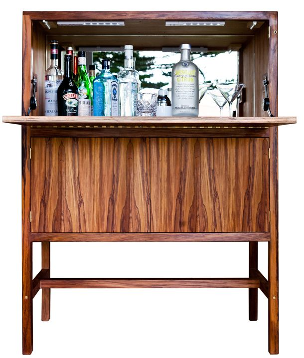 Ian Rouse Furniture - Full Cabinet. Wellington, New Zealand. Photography by Noemie Bulteau.