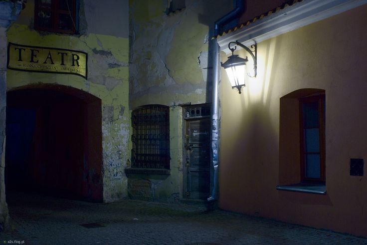 Lublin nocą - Stare i nowe na Jezuickiej