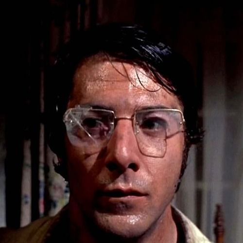 Dustin Hoffman in Straw Dogs (Sam Peckinpah, 1971)