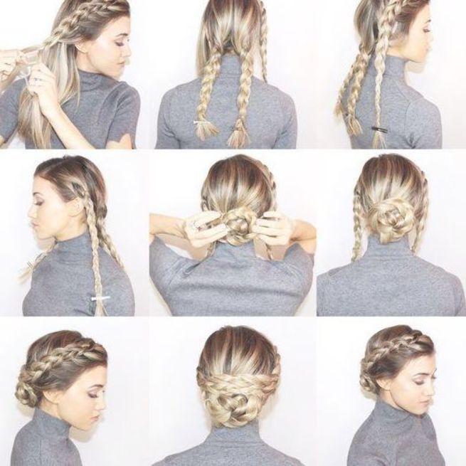 11+ Beste geflochtene Brötchen Frisuren für schöne Frauen