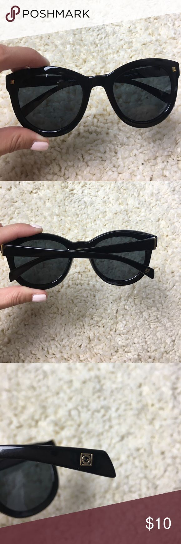 Black foster grant sunglasses Perfect condition. Worn for about 5 min for a photo shoot. Black. Foster Grant Accessories Sunglasses