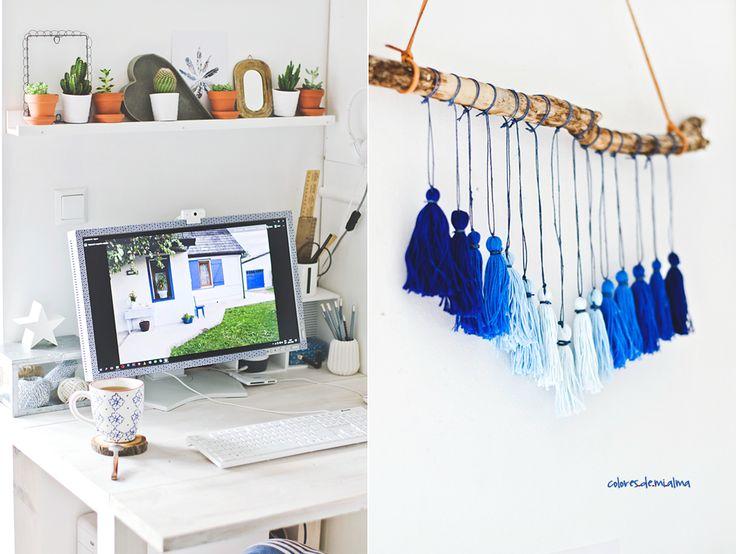 gradient Tassel Wall Hanging, DIY