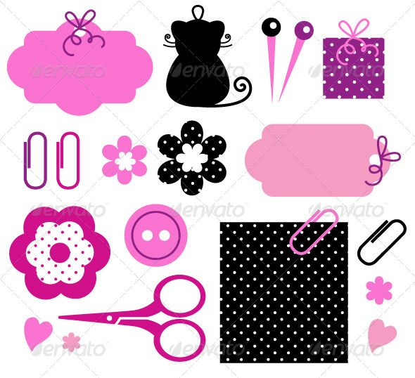 Design elements for handmade fashion