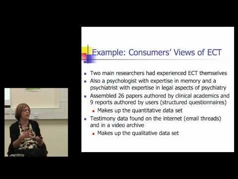 ▶ Diana Rose: Patient-centred systematic reviews - YouTube