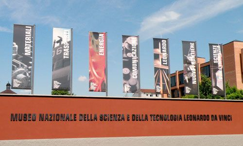 Museo Scienza - Science Museum, lots of technology stuff, quite interactive 10 euro entry - maybe interesting for the boys??