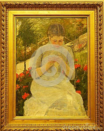 Famous Painting. Known works of the great masters of his time. Major or minor artwork. Taken in museums in Paris.