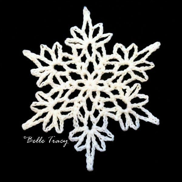 Free Irish Crochet Snowflake Pattern : 1000+ ideas about Crochet Snowflake Pattern on Pinterest ...