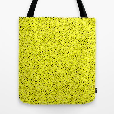 Smiley Tote Bag by Vanya Vasileva - $22.00 http://society6.com/vanyavasileva/
