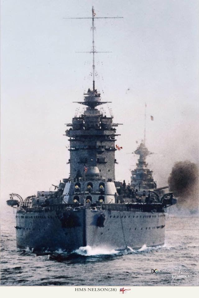 Battleship HMS Nelson