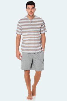 Pijama verano Punto Blanco modelo Saulsalito. Algodón 100%