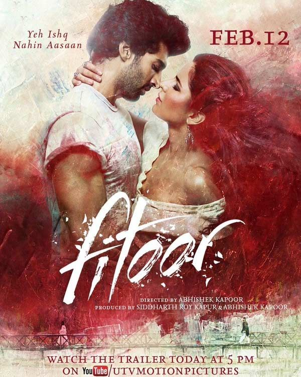 Fitoor Movie Posters: Katrina Kaif, Aditya Roy Kapur And Tabu Will Make You Go Weak In Your Knees With Their Intense Looks