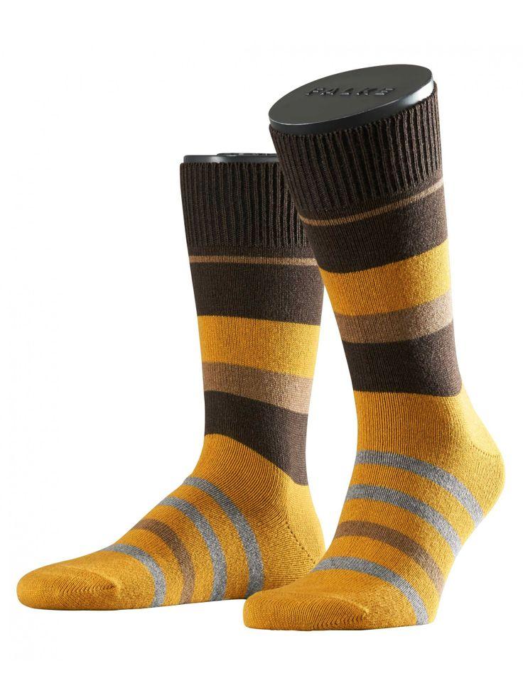 FALKE socks in yellow: Lhasa Irregular – shopping for fashionable and high qualtiy