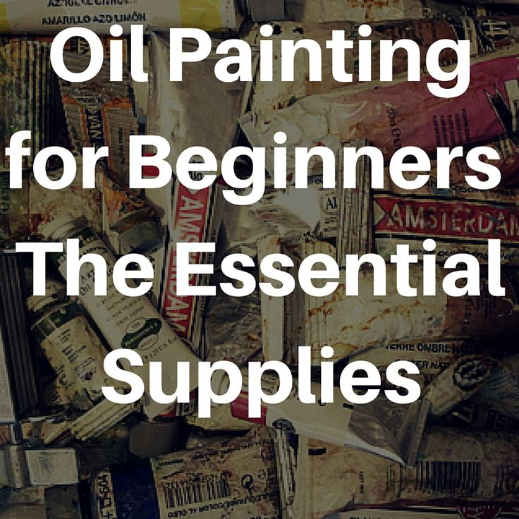 By Nicole Tinkham Image used under Creative Commons from karindalziel. Are you thinking about starting your first oil painting? Great! We hope that you do. Do you have all of the necessary supplies…