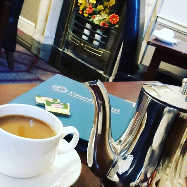 Breakfast in Dublin ♡ Jeg er allerede forelsket i Dublin ♡  #breakfast #morgenmad #ilovedublin #dublin #january2017👣 #irland #ireland #coffee #cassidyshotel