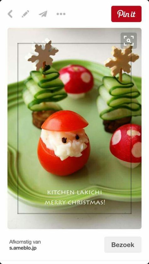 Weihnachtliches (Christmas Appetizers Creative)