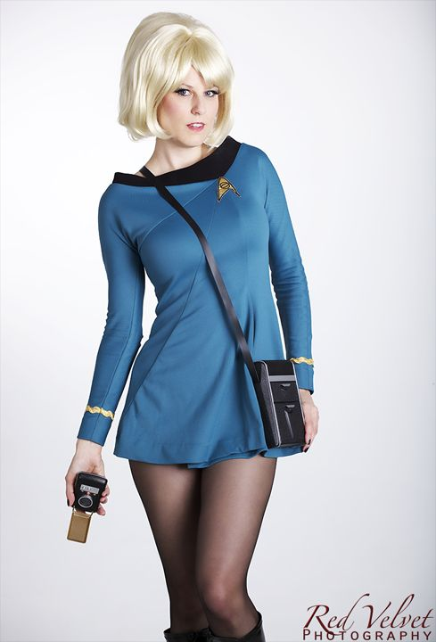 Sexy blondes on star trek