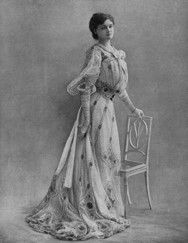 1902, March - Robe de Ville 'Aramis' by Armand - Les Modes (Paris)