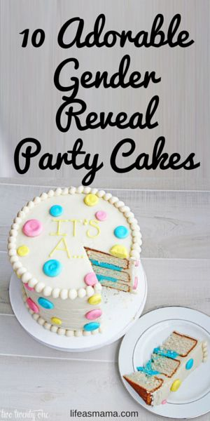 """The ever popular gender reveal cake has been a staple on the dessert tables of many a baby shower. Whether or not the shower is specifically """"reveal"""" themed, incorporating a gender reveal cake is a great way to add a little bit of fun and tons of mystery to any party. Gender reveal cakes are different, unique, and totally adorable. These cakes are going to give you a serious case of heart eyes!"""