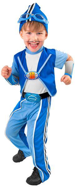 Child's Sportacus Costume