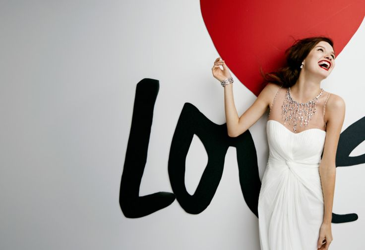 First time seeing this allusion beaded necklace neckline... Love it!  40 Smokin' Hot Wedding Dresses Under $500