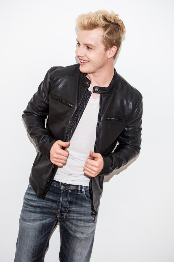 Noel Fisher photoshoot for Riker Brothers (x)