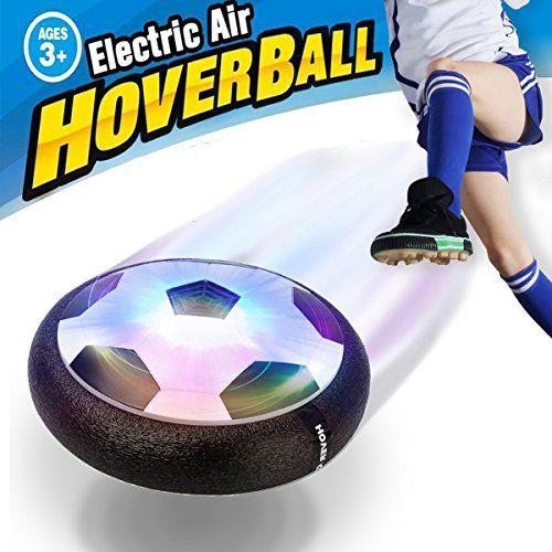 Air Power Football – VIDEN Ballon de Foot Aéroglisseur avec Lumière LED, Jeux de Plein Air Enfant Jeu de Jouets Hover Ball, Noël Cadeau…
