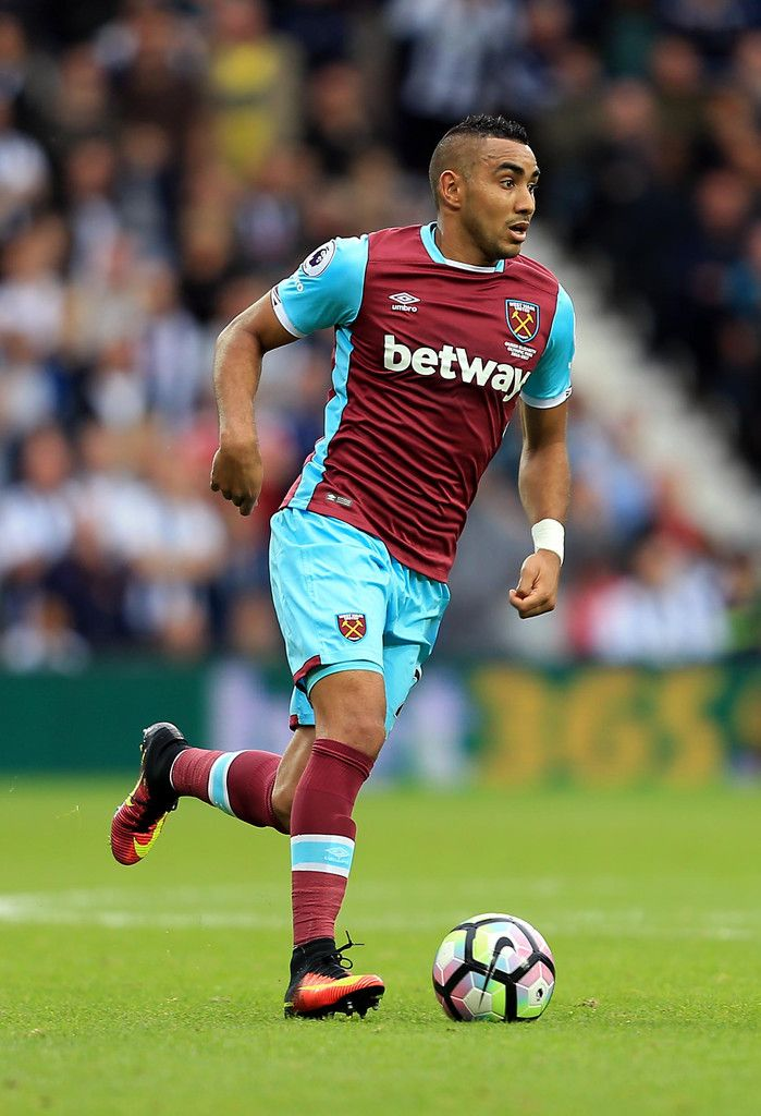 Dimitri Payet Photos Photos - Dimitri Payet of West Ham United during the Premier League match between West Bromwich Albion and West Ham United at The Hawthorns on September 17, 2016 in West Bromwich, England. - West Bromwich Albion v West Ham United - Premier League
