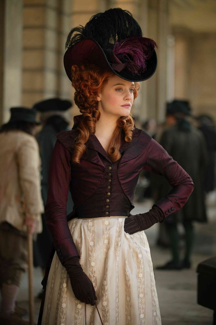 Romola Garai in Amazing Grace