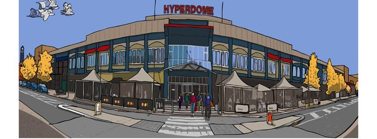 Tuggeranong Hyperdome, as created by Michael Ashley