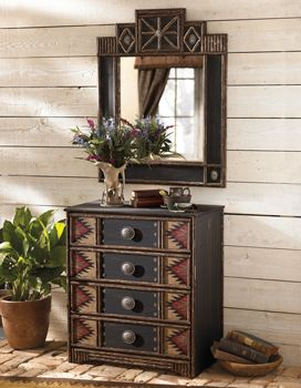 Chimayo Furniture Collection - beautiful; another taste of Adirondack .... kc