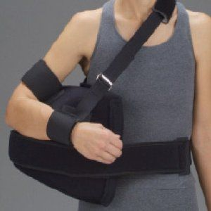 how to wear a sling for rotator cuff