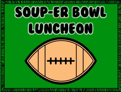 Social Committee or Sunshine Committee members!  A soup and chili luncheon is one of the easiest luncheons to plan